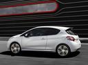 Фото авто Peugeot 208 1 поколение, ракурс: 90 цвет: белый