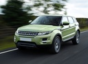 Фото авто Land Rover Range Rover Evoque L538, ракурс: 45 цвет: зеленый
