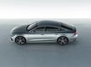 Фото авто Audi A7 C8, ракурс: сверху цвет: серебряный