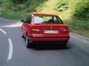 Фото авто BMW 3 серия E36, ракурс: 180 цвет: красный