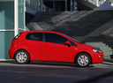 Фото авто Fiat Punto 3 поколение [2-й рестайлинг], ракурс: 270 цвет: красный