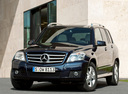 Фото авто Mercedes-Benz GLK-Класс X204, ракурс: 45 цвет: синий