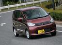 Фото авто Mitsubishi eK B11, ракурс: 315 цвет: красный