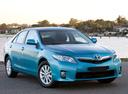 Фото авто Toyota Camry XV40 [рестайлинг], ракурс: 315 цвет: голубой