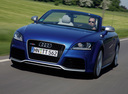 Фото авто Audi TT 8J [рестайлинг], ракурс: 45 цвет: голубой