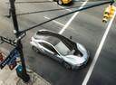 Фото авто BMW i8 I12, ракурс: сверху цвет: серебряный
