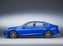 Фото авто Audi S5 F5, ракурс: 90 - рендер цвет: голубой