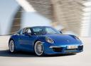 Фото авто Porsche 911 991, ракурс: 315 цвет: синий