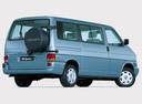 Фото авто Volkswagen Caravelle T4, ракурс: 225 цвет: голубой