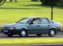 Фото авто Volkswagen Passat B3, ракурс: 45 цвет: серый
