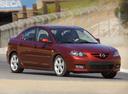 Фото авто Mazda 3 BK [рестайлинг], ракурс: 315 цвет: красный