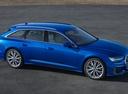 Фото авто Audi A6 C8, ракурс: 270 цвет: синий