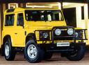 Фото авто Land Rover Defender 1 поколение, ракурс: 315 цвет: желтый