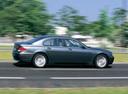 Фото авто BMW 7 серия E65/E66, ракурс: 270 цвет: мокрый асфальт