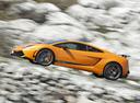 Фото авто Lamborghini Gallardo 1 поколение, ракурс: 90 цвет: желтый