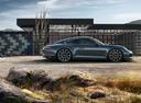 Фото авто Porsche 911 991 [рестайлинг], ракурс: 270 цвет: мокрый асфальт