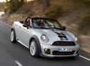 Фото авто Mini Roadster 1 поколение, ракурс: 315 цвет: серебряный
