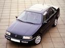 Фото авто Volkswagen Passat B4, ракурс: 45 цвет: синий