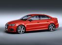 Фото авто Audi RS 3 8VA [рестайлинг], ракурс: 45 цвет: красный