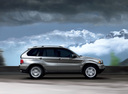 Фото авто BMW X5 E53 [рестайлинг], ракурс: 270 цвет: серебряный