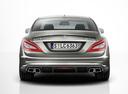 Фото авто Mercedes-Benz CLS-Класс C218/X218, ракурс: 180 цвет: серый
