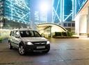 Фото авто ВАЗ (Lada) Largus 1 поколение, ракурс: 315 цвет: серебряный