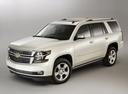 Фото авто Chevrolet Tahoe 4 поколение, ракурс: 45 - рендер цвет: белый