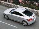 Фото авто Audi TT 8J [рестайлинг], ракурс: сверху цвет: белый
