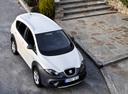 Фото авто SEAT Altea 1 поколение [рестайлинг], ракурс: сверху цвет: белый