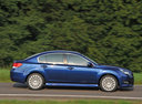 Фото авто Subaru Legacy 5 поколение, ракурс: 270 цвет: синий