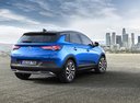 Фото авто Opel Grandland X 1 поколение, ракурс: 225 цвет: синий