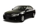 Фото авто Subaru Legacy 4 поколение, ракурс: 45 цвет: черный