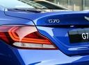 Фото авто Genesis G70 1 поколение, ракурс: задняя часть цвет: синий