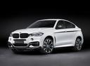 Фото авто BMW X6 F16, ракурс: 45 - рендер цвет: белый