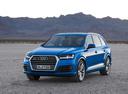 Фото авто Audi Q7 4M, ракурс: 45 цвет: голубой
