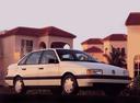 Фото авто Volkswagen Passat B3, ракурс: 315 цвет: белый