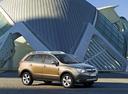 Фото авто Opel Antara 1 поколение, ракурс: 315 цвет: салатовый