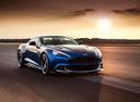 Фото авто Aston Martin Vanquish 2 поколение, ракурс: 315 цвет: голубой
