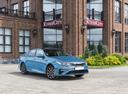 Фото авто Kia Optima 4 поколение [рестайлинг], ракурс: 315 цвет: голубой