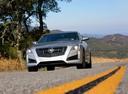 Фото авто Cadillac CTS 3 поколение, ракурс: 45 цвет: серебряный