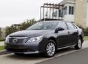 Фото авто Toyota Camry XV50, ракурс: 45 цвет: черный