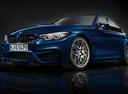Фото авто BMW M3 F80 [рестайлинг], ракурс: 45 - рендер цвет: синий