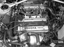 Фото авто Toyota Corolla E80, ракурс: двигатель