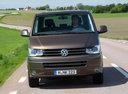 Фото авто Volkswagen Multivan T5 [рестайлинг],  цвет: коричневый