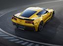 Фото авто Chevrolet Corvette C7, ракурс: 225 цвет: желтый