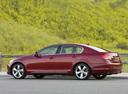 Фото авто Lexus GS 3 поколение [рестайлинг], ракурс: 90 цвет: бордовый