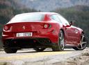 Фото авто Ferrari FF 1 поколение, ракурс: 225 цвет: красный
