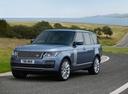 Фото авто Land Rover Range Rover 4 поколение [рестайлинг], ракурс: 45 цвет: голубой