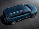 Фото авто Peugeot 5008 2 поколение, ракурс: сверху цвет: зеленый
