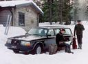 Фото авто Volvo 240 1 поколение, ракурс: 45 цвет: черный